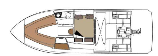 Armatti 300 Spyder Lower Level