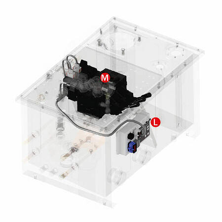 Marine hydraulic valve controller system