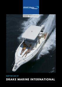 Raptor 265 ST YACHT BROKERAGE pdf