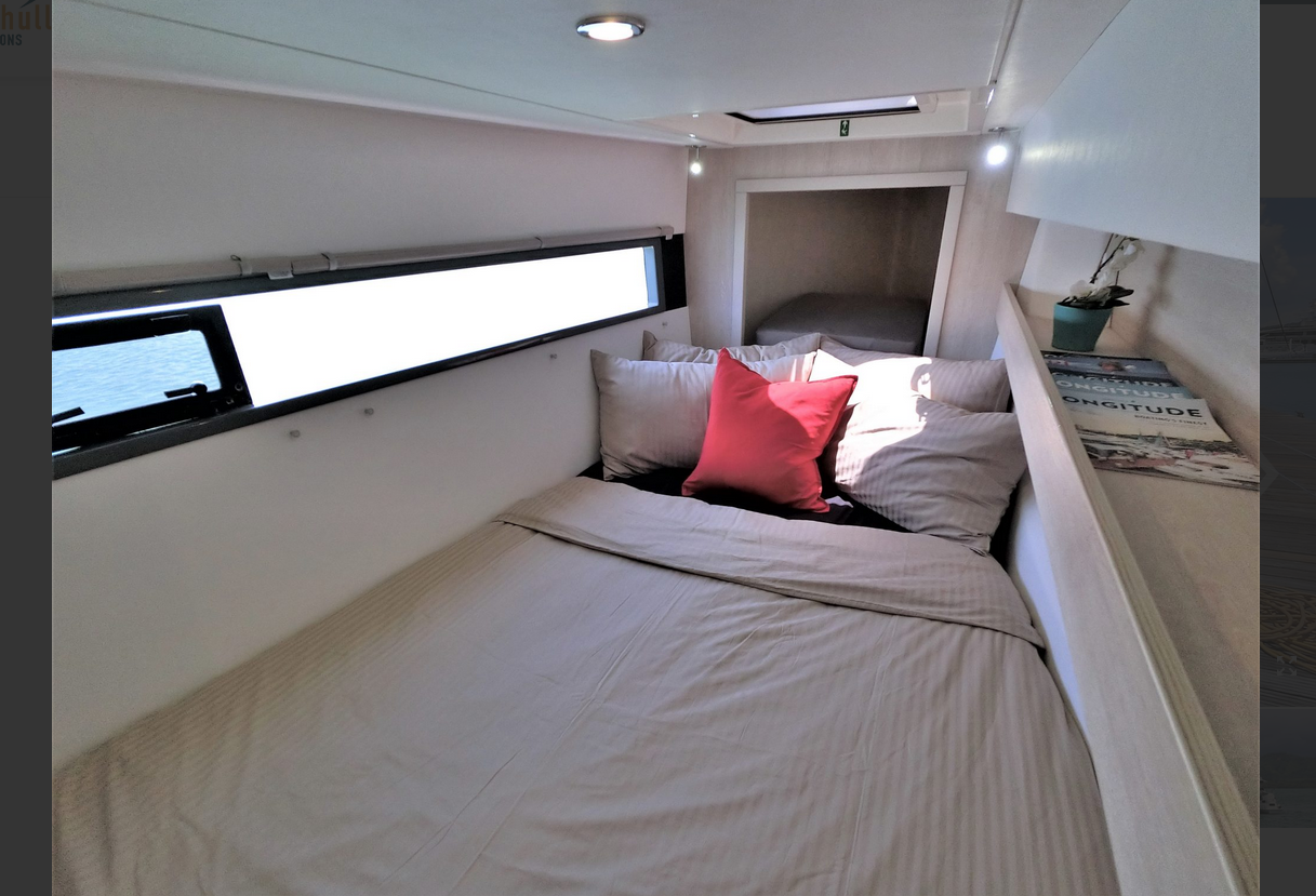 Leopard 43 Power Catamaran Cabin 3