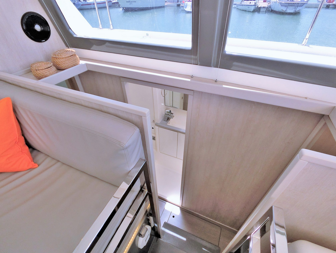 Leopard 43 Power Catamaran To Cabins 2