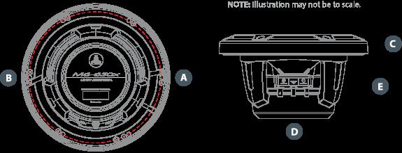 M6 650X C Dimensions