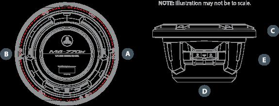 M6 770X C Dimensions