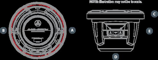 M6 880X C Dimensions