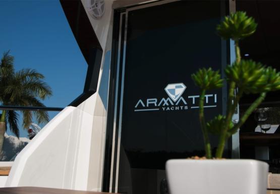 Armatti 450 Sport Coupe Aft Doors