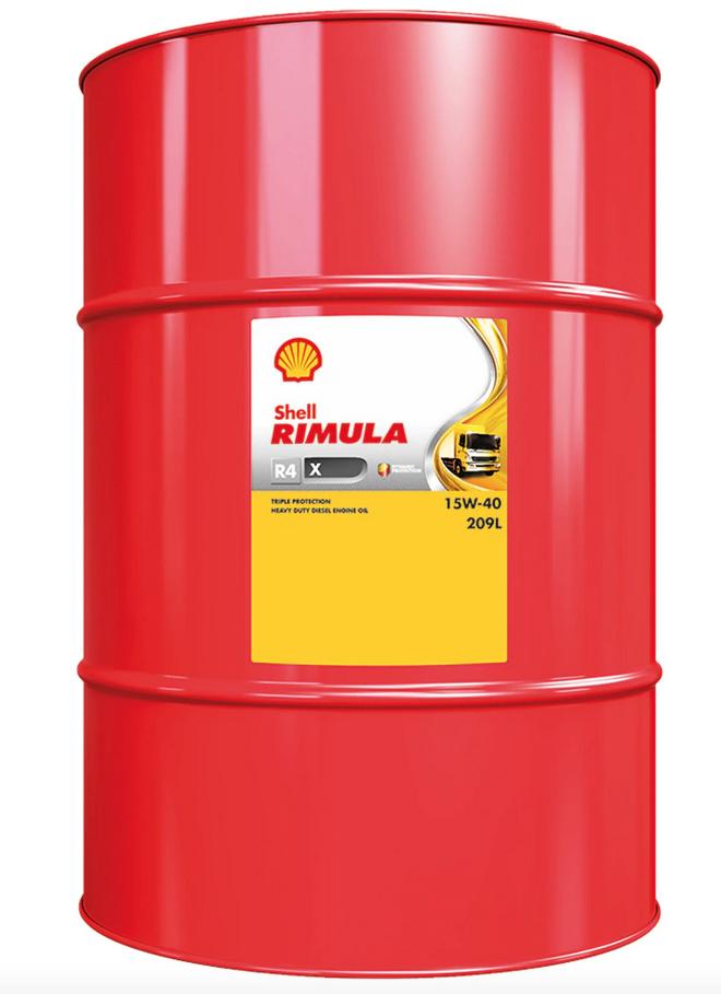 Shell Rimula R4-X 209L