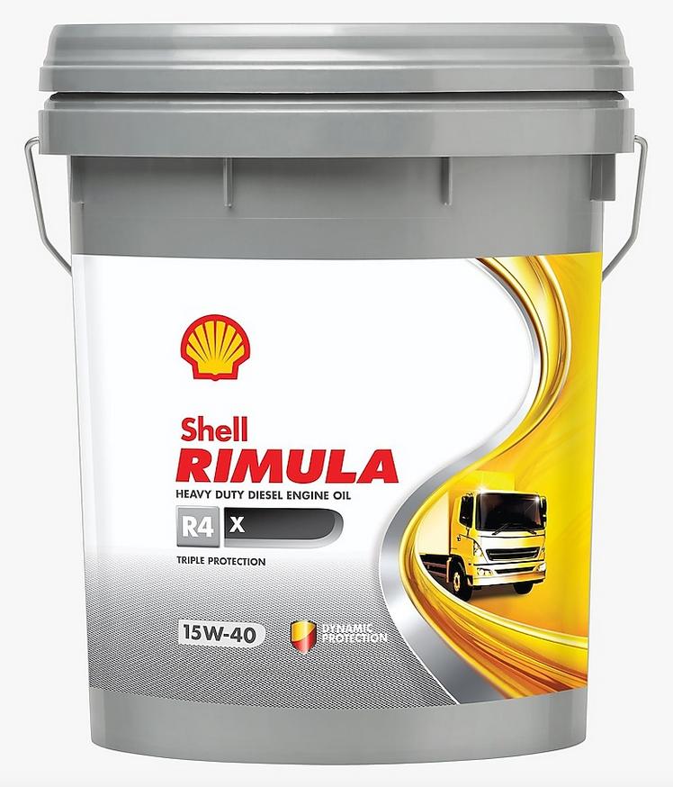 Shell Rimula R4-X 20L