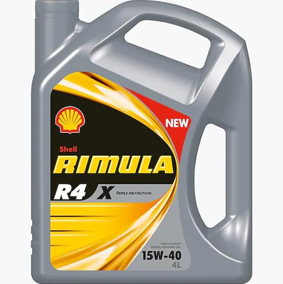 Shell Rimula R4-X 4L