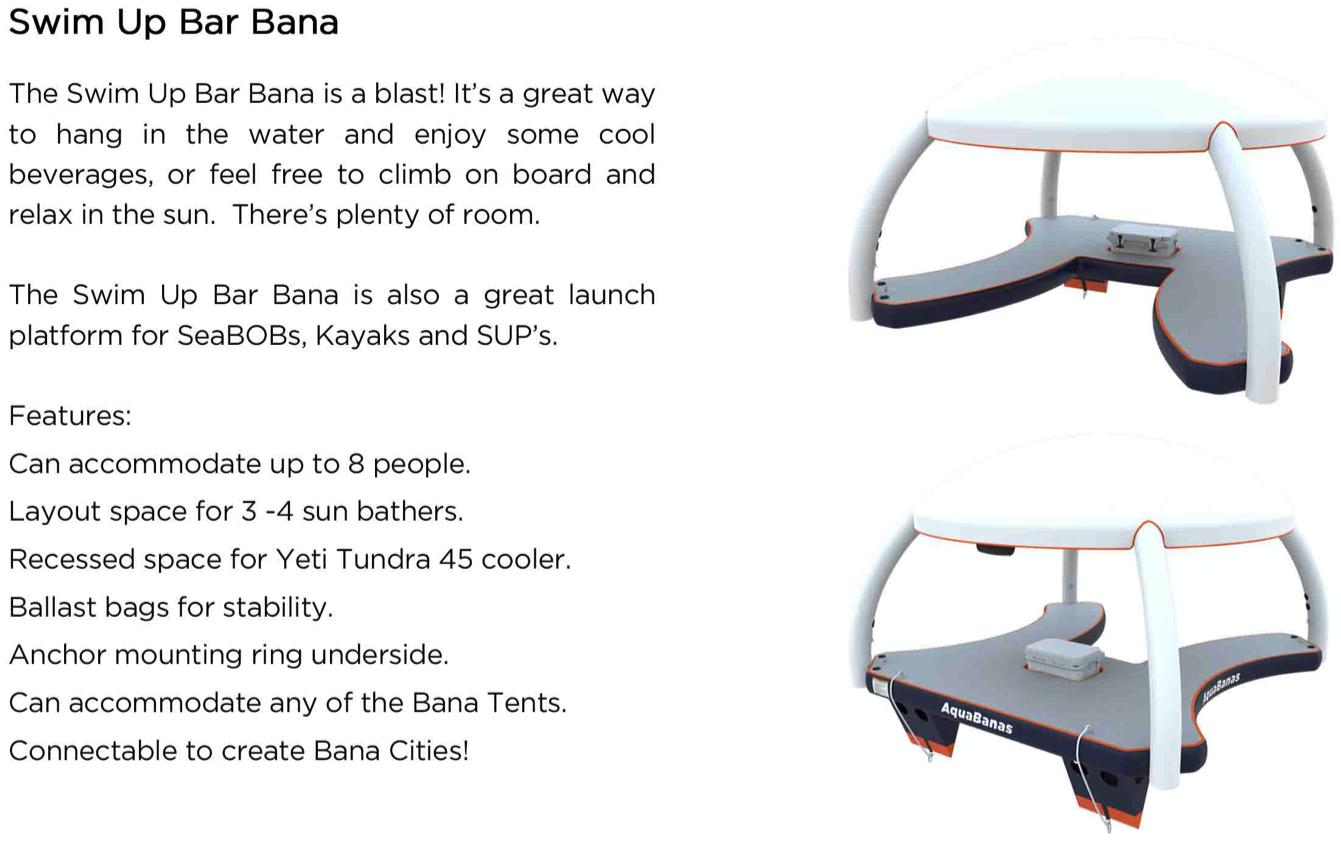 Swim Up Bar Bana