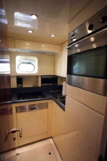 Leopard 27 Open - 2003 Galley
