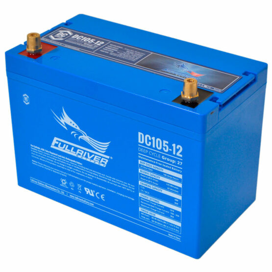 105a/h Deep Cycle Battery Thailand AGM Battery Marine Battery Big Battery