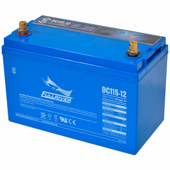 115a/h Deep Cycle Battery Thailand AGM Battery Marine Battery Big Battery