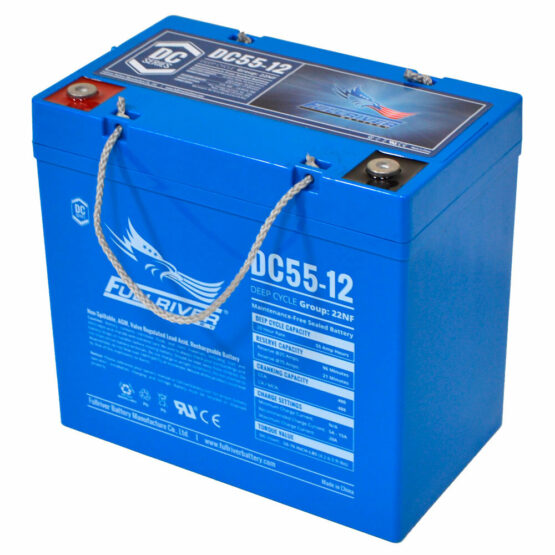 55a/h Deep Cycle Battery Thailand AGM Battery Marine Battery Big Battery