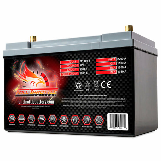 FT1100 - PC2150 Engine Start Battery Engine Starting Battery AGM Start Battery Boat Engine Battery