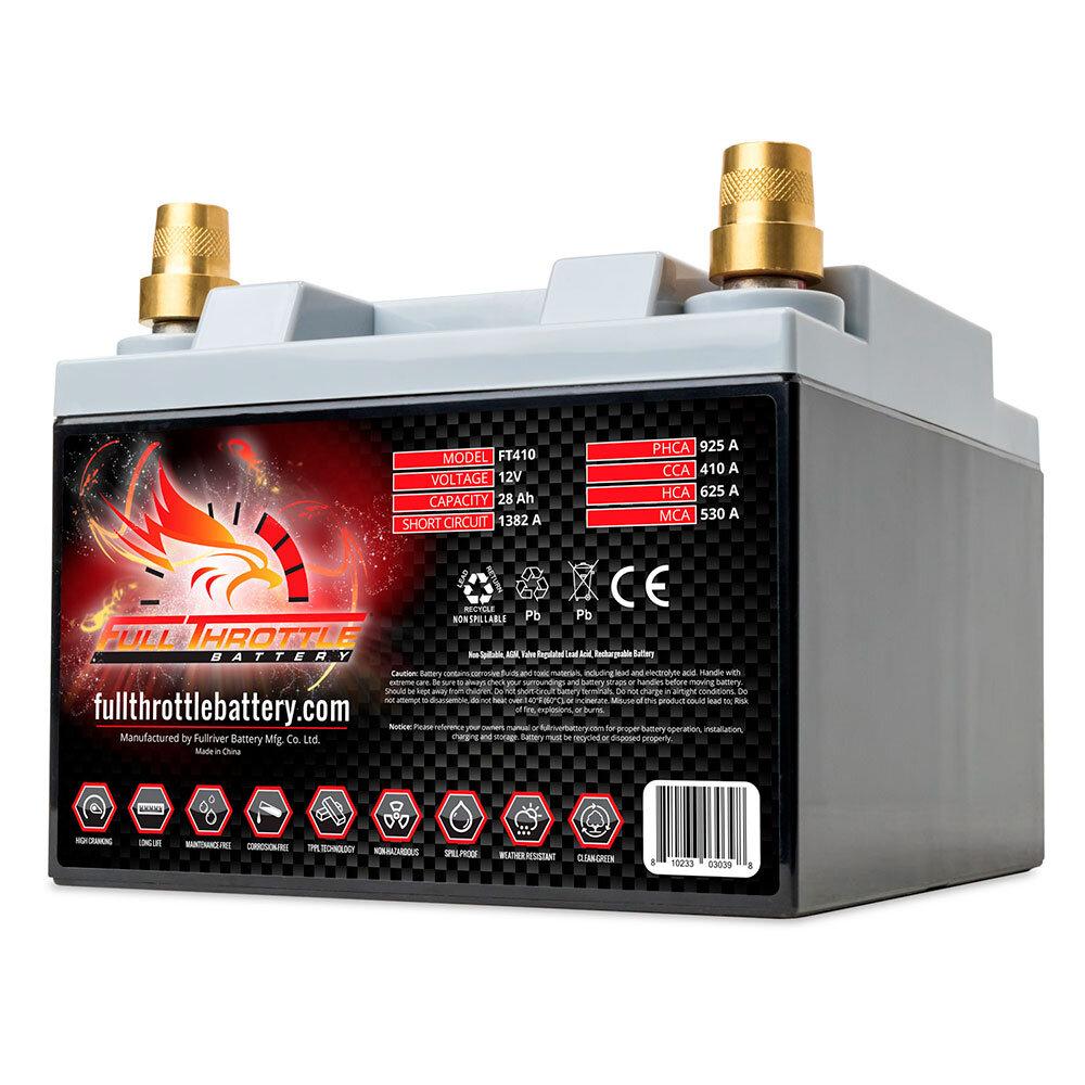 FT410 - PC925 Engine Start Battery Engine Starting Battery AGM Start Battery Boat Engine Battery