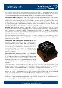 Split Charging Fact Sheet pdf