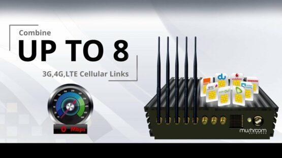 3G 4G LTE Bonded Router