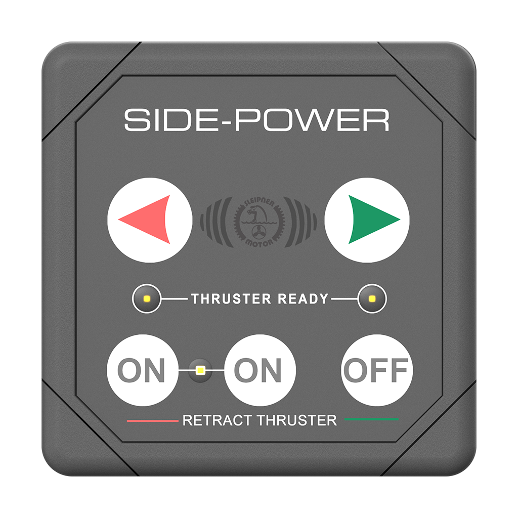 Side Power Control - SR Series Control - Square - 12/24V