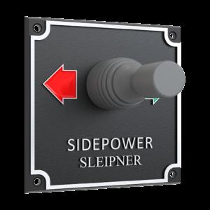 Side Power Joystick Panel - 12/24V