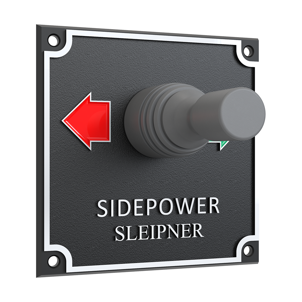 Side Power Joystick Panel - 12/24V