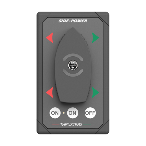 Side Power Control - Boat Switch Panel - Dual - 12/24V