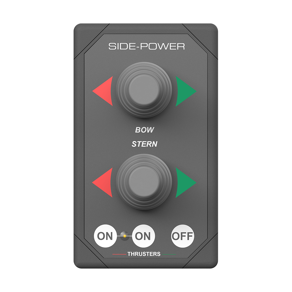 Side Power Dual Joystick Panel 12/24V