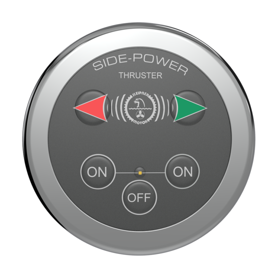 Side Power Control - Touch Control - Round - 12/24V
