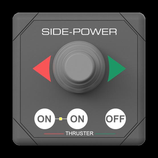 Side Power Single Joystick Panel 12/24V