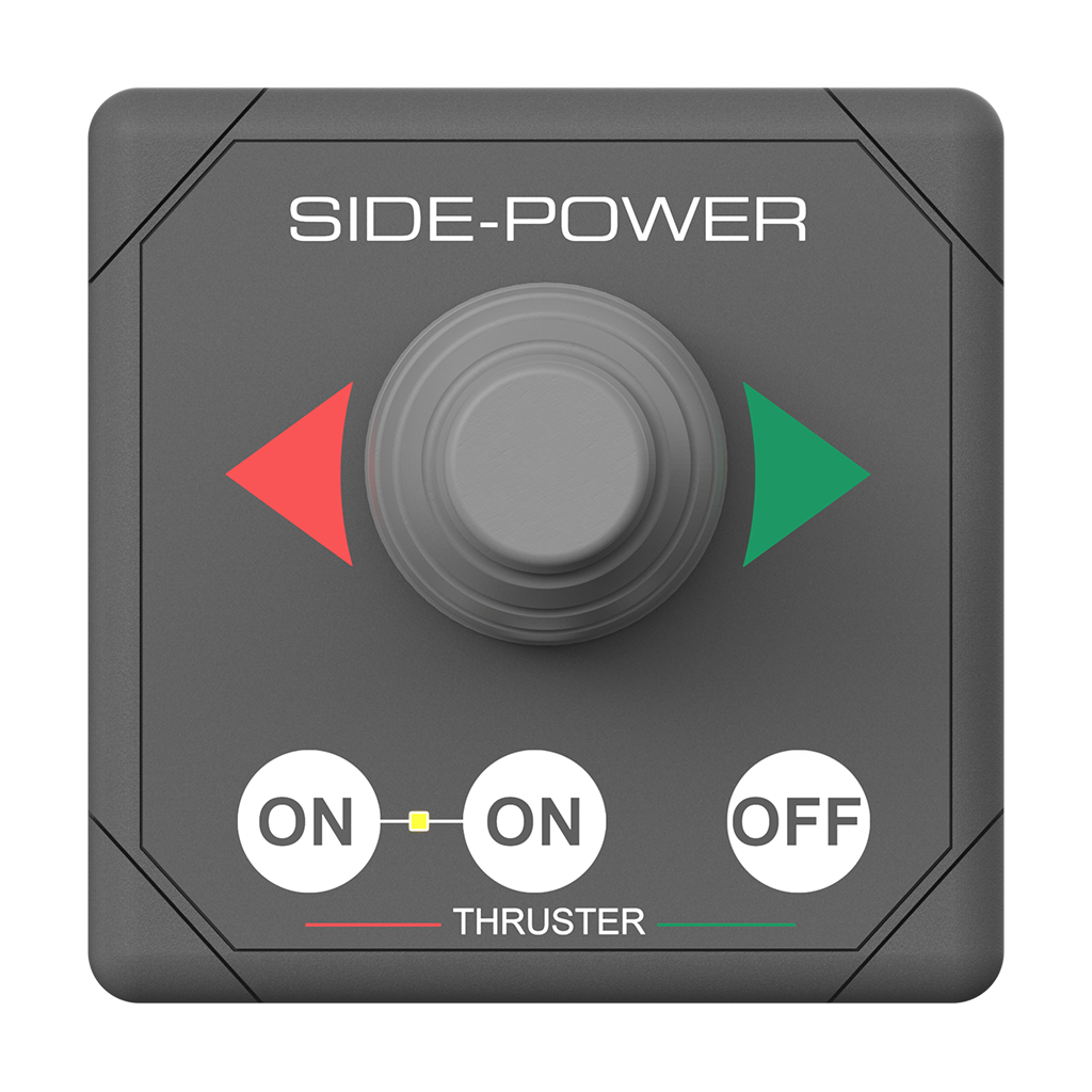 Side Power Single Joystick Panel 12/24V