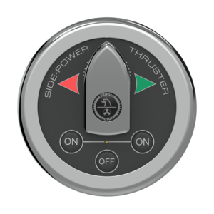 Side Power Control - Boat Switch Control - Round - 12/24V