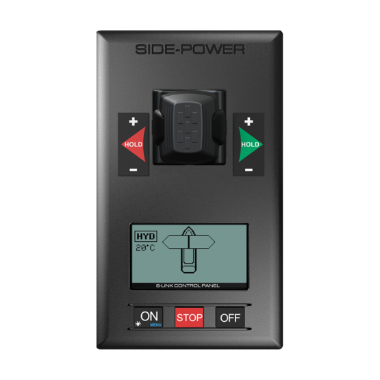 Side Power Control Panel Proportional S-link Control Hydraulic