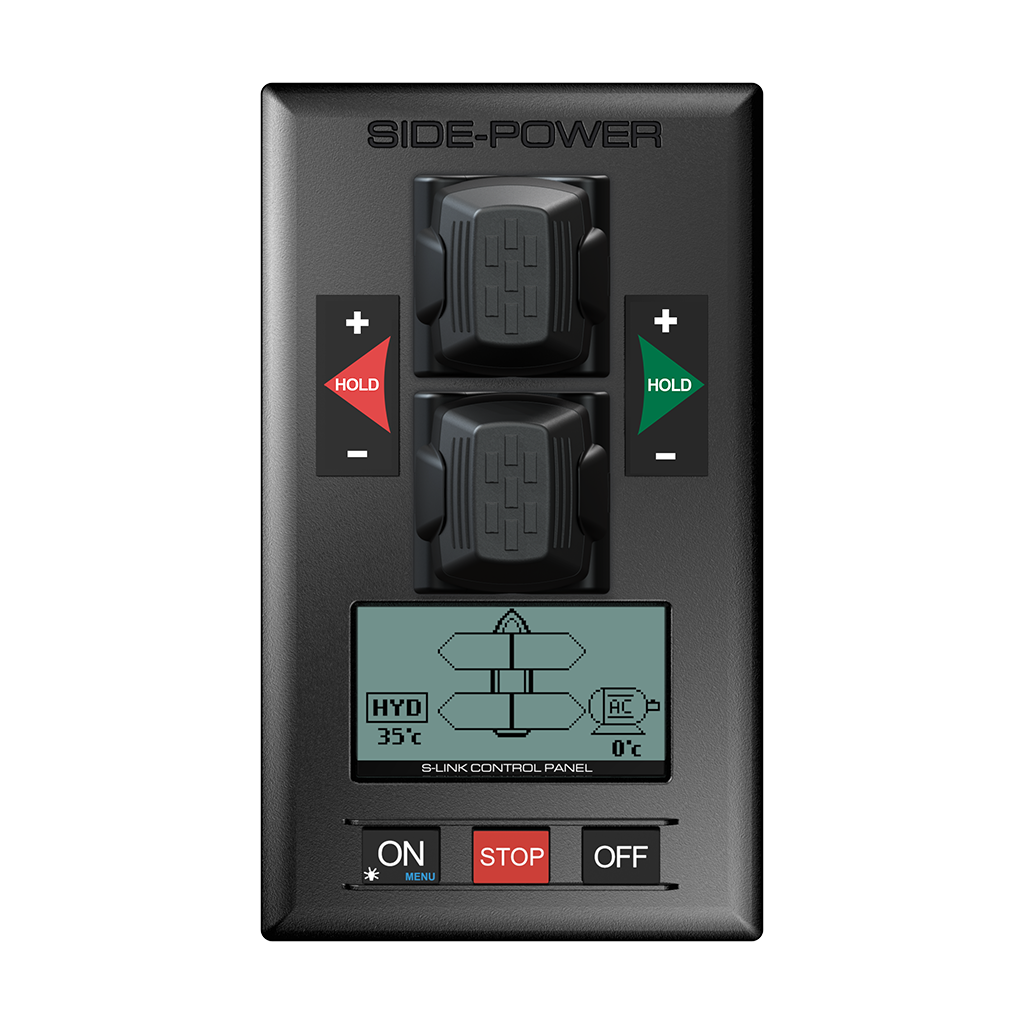Side Power Control Panel Proportional S-link Control Hydraulic Dual