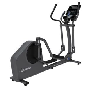 E1 Crosstrainer TrackConnect console 3quarter view 1000x1000 2