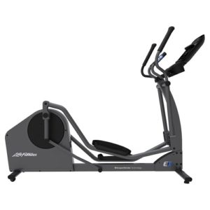 E1 Crosstrainer TrackConnect console side view 1000x1000 1