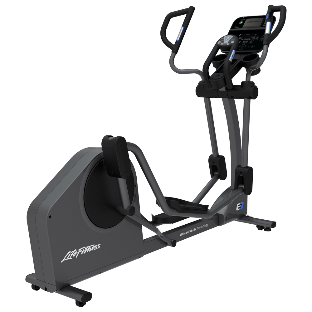 E3 Crosstrainer TrackConnect console 3quarter view 1000x1000 1