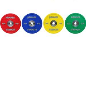 Accessories Urethane Bumper Plates Family Color mr L