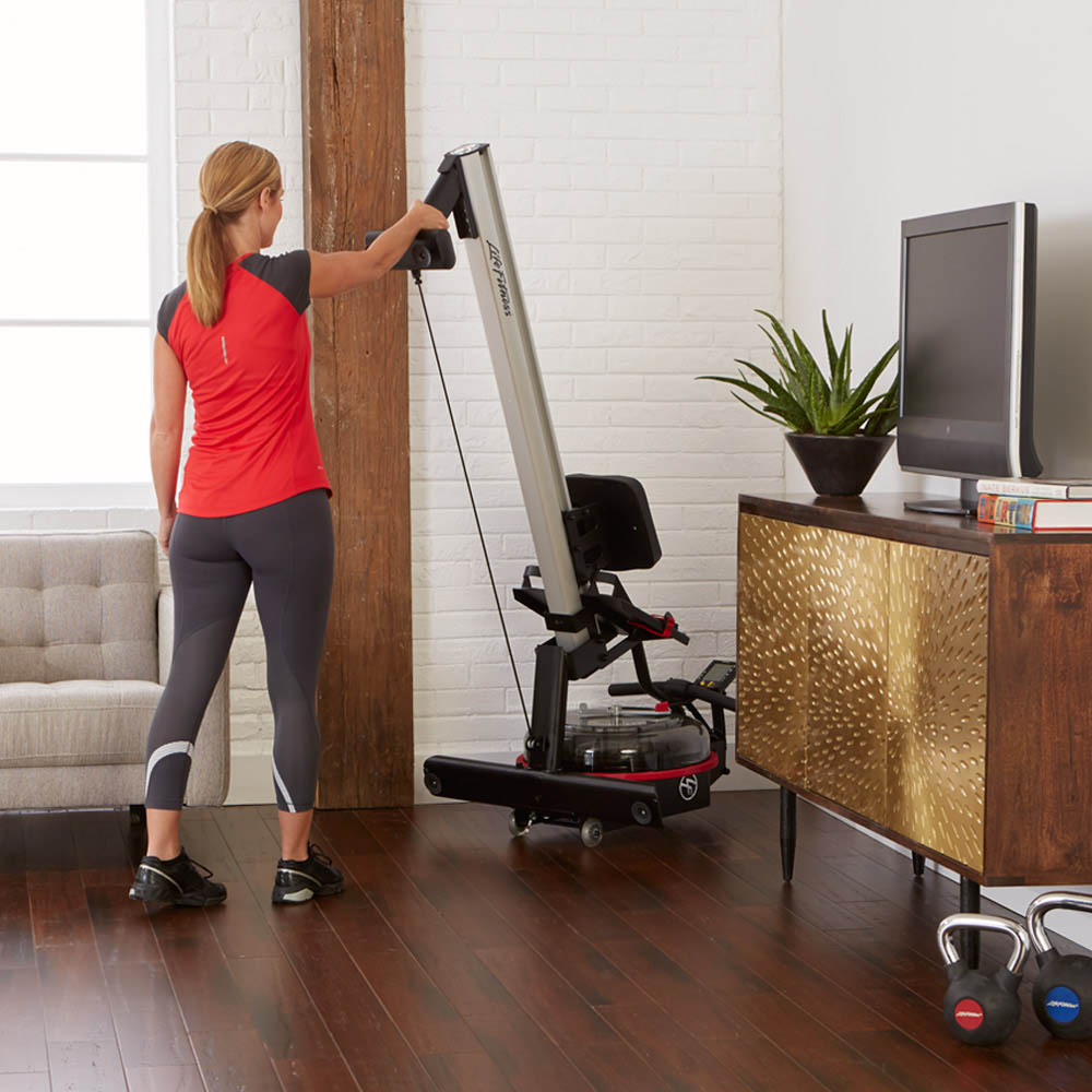 Row gx trainer female storing upright